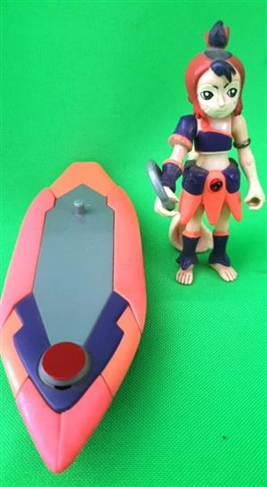 Boat and female figurine