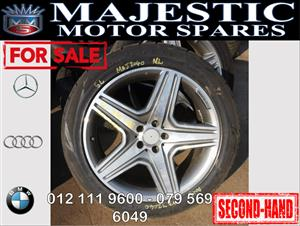 Mercedes benz mags and rims for sale