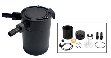 Universal oil catch tank