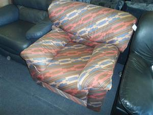 Single Material Patterned Chair