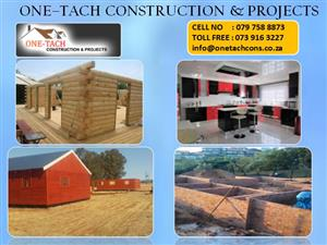 No Job Too Big Or Too Small.  One Tach Construction & Projects!