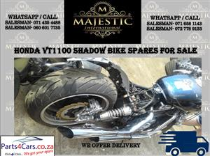 Honda VT 1100 used bike spares for sale