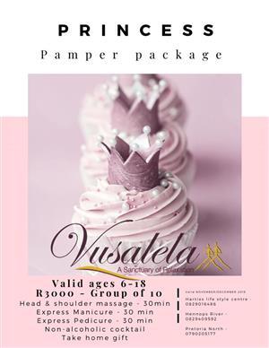 Princess Pamper Package