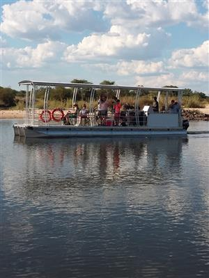 Aluminium pontoon boats