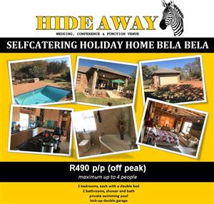 Self-catering holiday home in Bela Bela