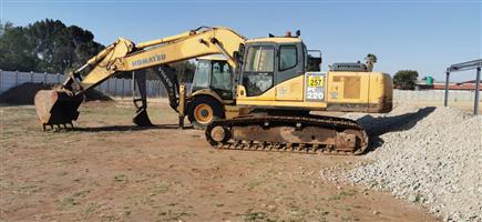 Used 2007 Komatsu PC 220 Excavator for sale