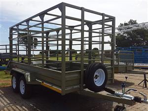 SABS approved cattle trailer