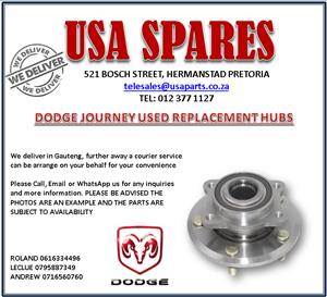 DODGE JOURNEY USED REPLACEMENT HUBS