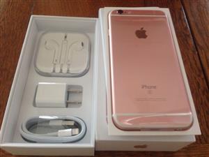 NEW Rose Gold iPhone 6S plus 64GB