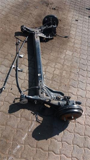 KIA PICANTO REAR AXLE