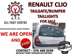 Renault Clio used spares for sale
