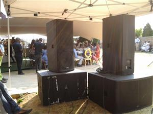 PA/ sound system & DJ for Hire