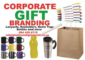 Mug Branding, gift branding, promotional branding,  Embroidery and More