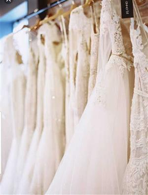 BRIDAL BOUTIQUE FOR SALE R400 000