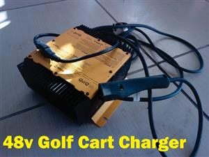 48v Ezgo Trx golf cart charger