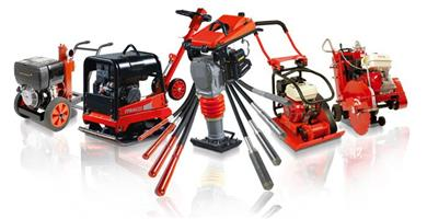 Rammers, Rollers, Pokers, Plate Compactors, Generators - Small Plant Construction Equipment Experts.
