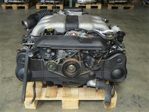 SUBARU SVX 3.3L, EG33 Engine