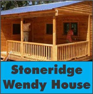 Sleeping rooms (maids quarters), Wendy houses. Dolls houses