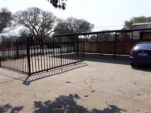 Front Yard To-Let in busy Van Der Hoff Road Pretoria Gardens 160m2