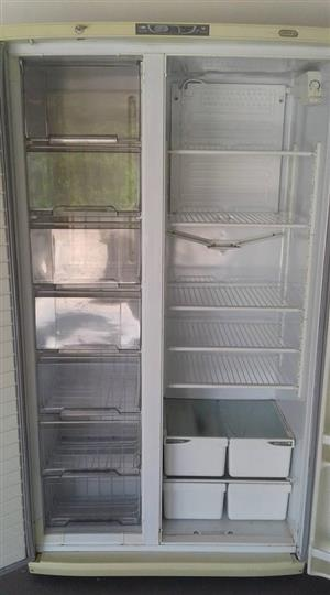 defy Double door fridge freezer.Working condition and clean.Well looked after unit