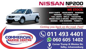 nissan np200 spare parts