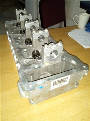 Ford RoCam 1.6 - Complete Cylinder head.