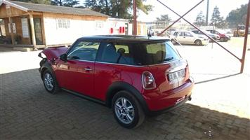 mini one now stripping for spares