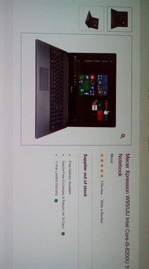 Brand new Mecer Laptop