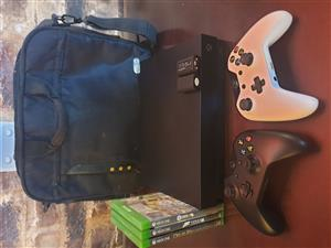 Xbox one X 2tb bundle