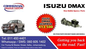 isuzu dmax 4jj1/4jk1 gearbox