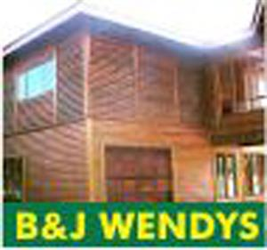 B And J Wendys. We do all sizes of wendy houses