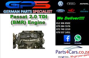 VW Passat 2.0 TDI (BMR) Engine for Sale