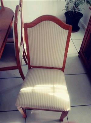 White top wooden chair for sale