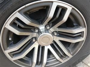 Rims and Tyres for sale for FORD AND MAZDA