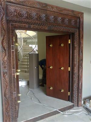 Zanzibar Style Doors