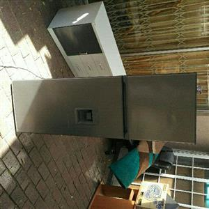 kic fridge with a dispenser