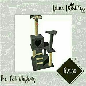 The Cat Whiskers Cat Castle