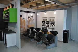 Upmarket hair salon for sale