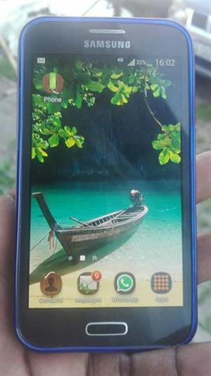 Samsung galaxy core still in good condition just back cove