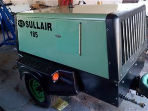 Sullair 185 diesel compressor