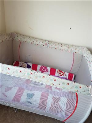 Baby Large camp cot for sale