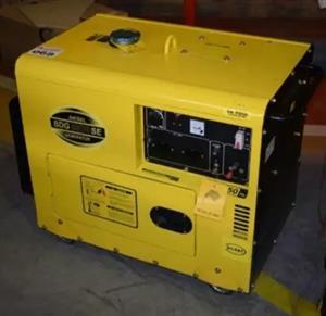 7kw Silent diesel generator