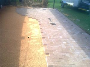 Paving and tombstones