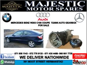 Mercedes w203 C180 coupe auto gearbox for sale