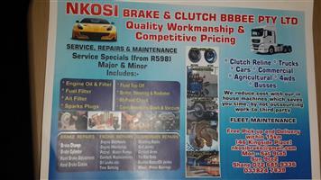Nkosi Brake and clutch