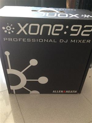 Allen & Heath Xone:92 Analogue DJ Mixer with 4 band EQ and Multi-mode Filters