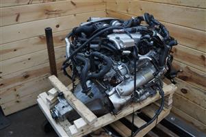 JDM Nissan GTR R35 3.8L V6 Twin Turbo VR38DETT Engine & Trans