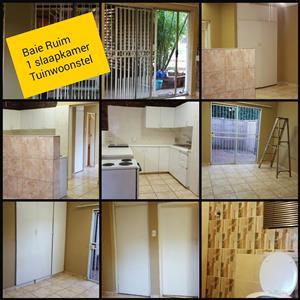 1 Slaapkamer Tuin woonstel te huur Pretoria Noord Dorandia omgewing
