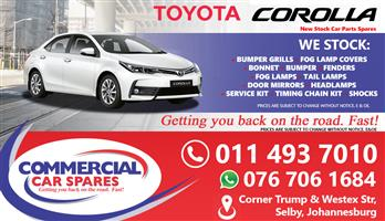Toyota Corolla Prestige Parts for sale