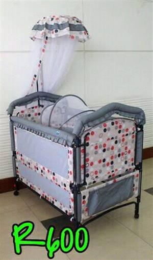 GRAY SPOTTED COT FOR SALE
